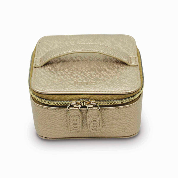 Jewellery Cube - Metallic Gold