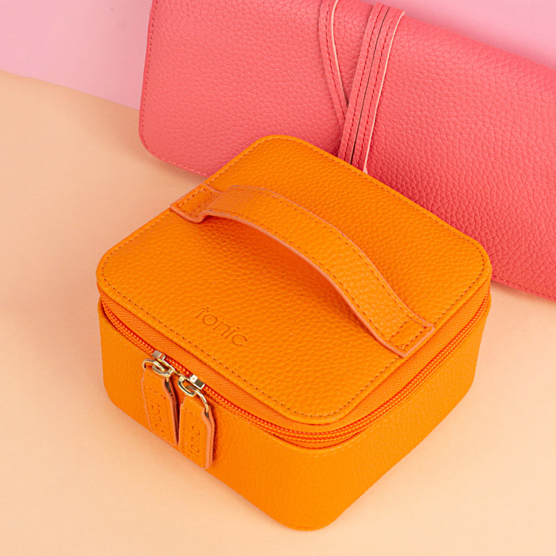 Jewellery Cube - POP Orange