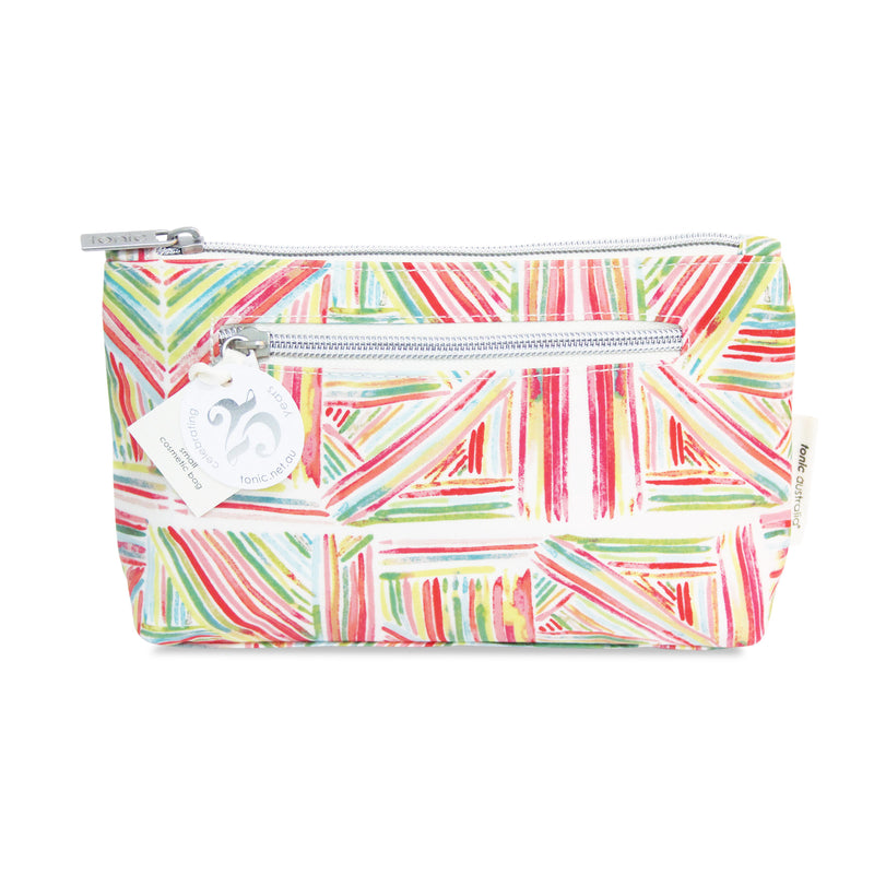 Small Cosmetic Bag Pink Sticks