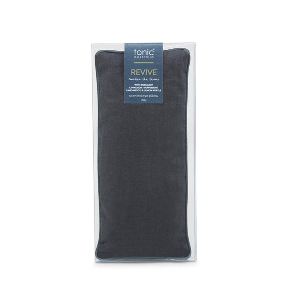 Eye Pillow - Luxe Linen Charcoal