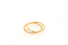 Load image into Gallery viewer, Sabina Gold Dot Ring 1mm