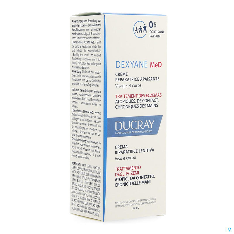 Ducray Dexyane Med Cr Reparatrice Apais. 30ml