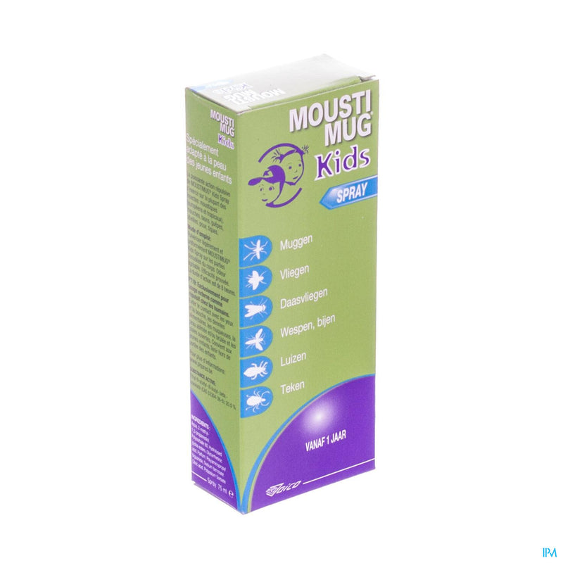 Moustimug Kids Spray Nf 75ml Rempl.2394674