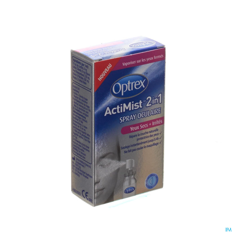 *** Optrex Actimist Spray Ocul. Yeux Secs-irrites 10ml