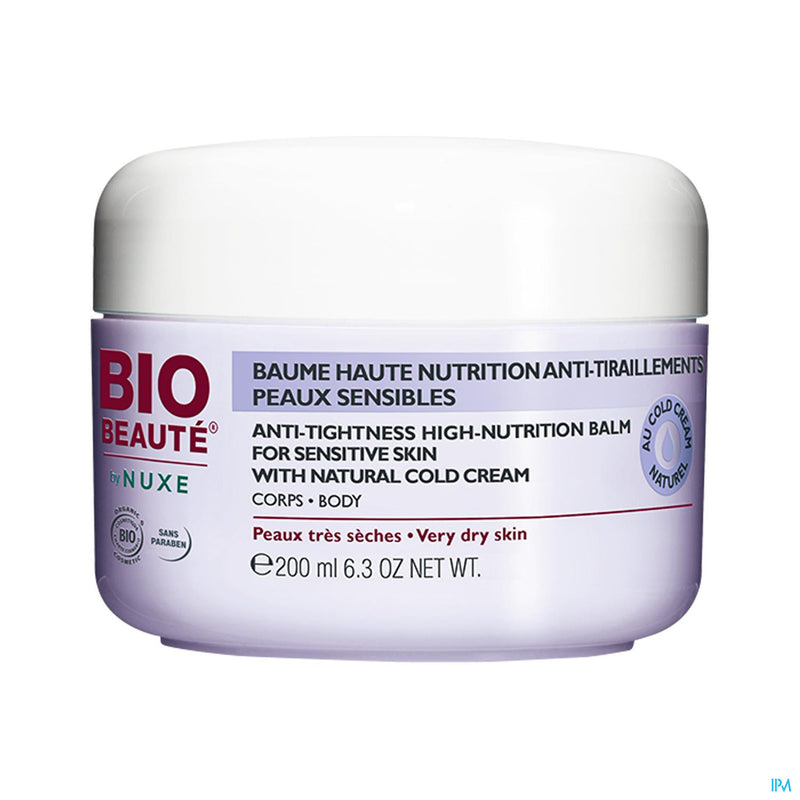 Bio Beaute Baume Corps Confort 24h Coldcream 200ml