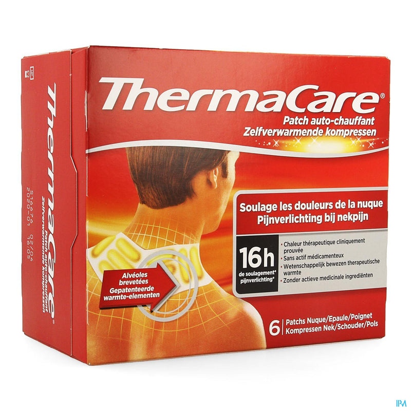 *** Thermacare Cp Chauffante Nuque-epaule-poignet 2x3