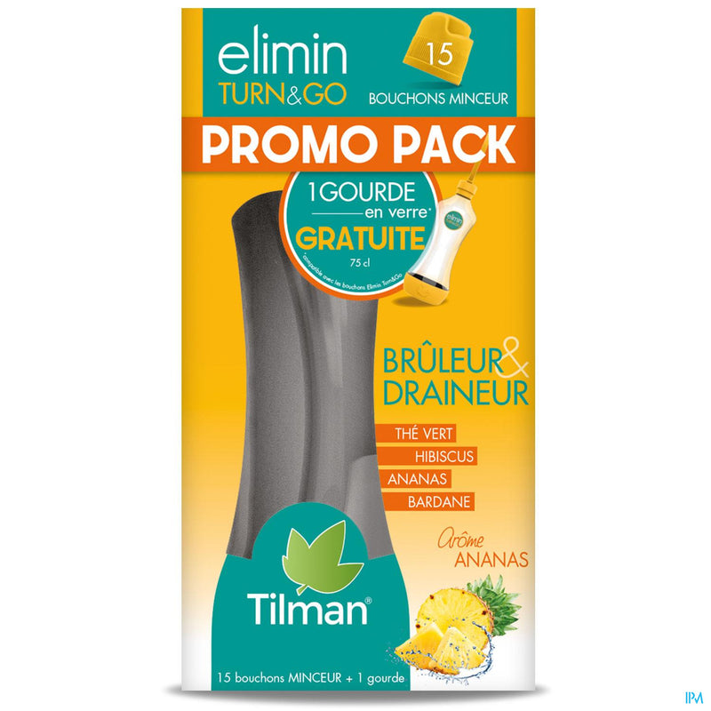 Elimin Turn&go Ananas Bouchons 15 Promo 2019