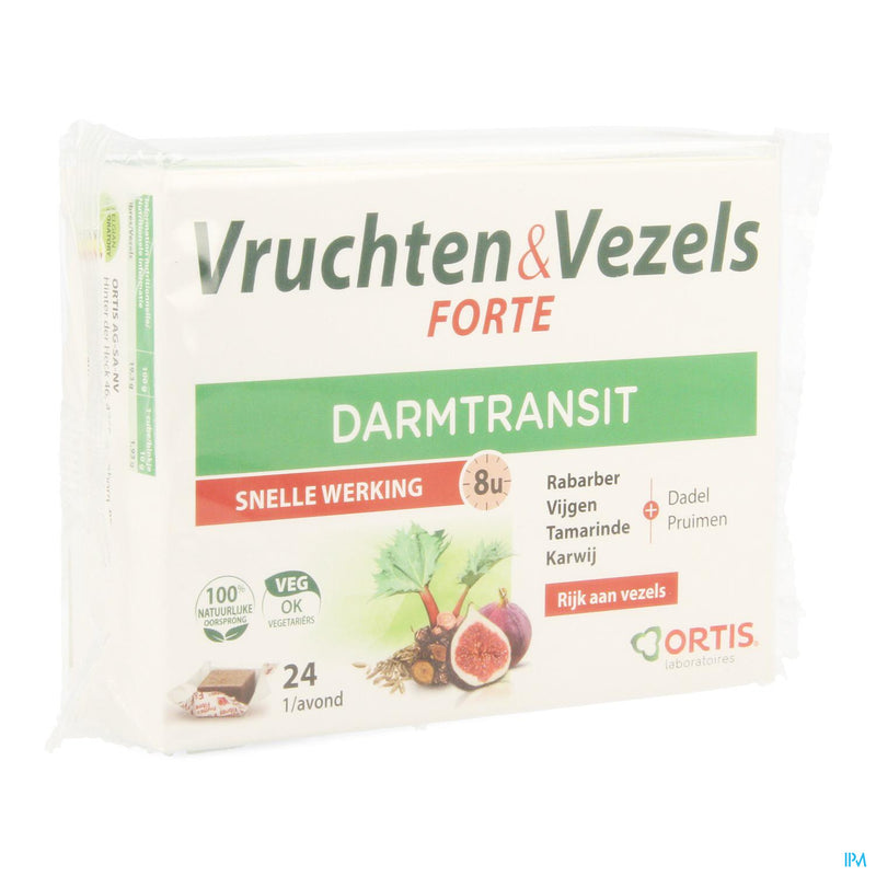 *** Ortis Fruits & Fibres Forte Cubes 24
