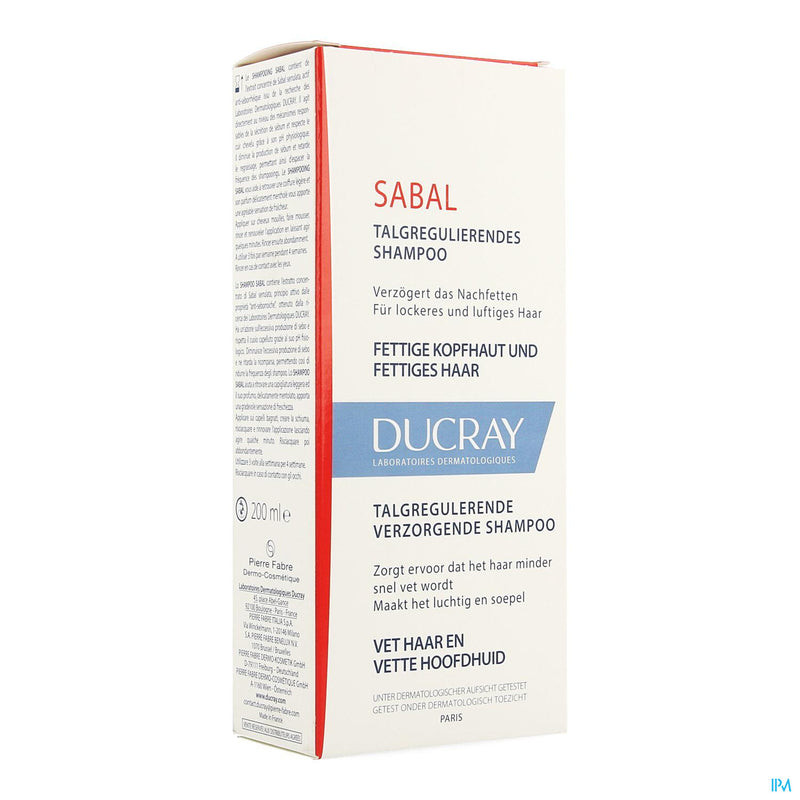 Ducray Sabal Sh Traitant Sebo Regulateur 200ml