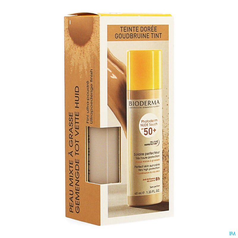 iU- PHOTODERM NUDE TOUCH IP50+ DORE Solaire perfecteur tres haute protection- BIODERMA