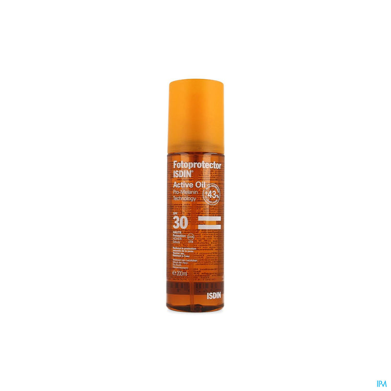 iu- Fotoprotector Active Oil lp30+ 200ml- Isdin