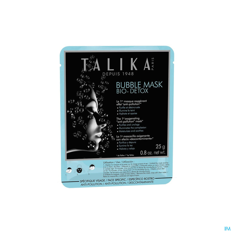 iU- Bubble Mask Bio Detox 25g- Talika