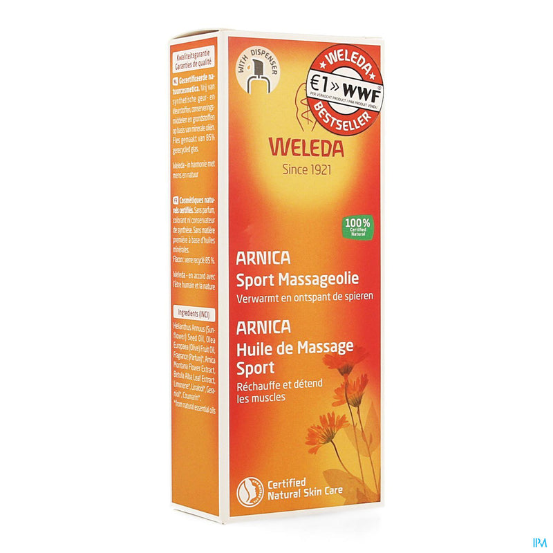 Weleda Hle Massage Arnica 100ml