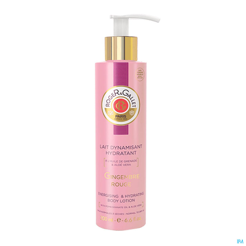 iU- Gingembre Rouge Sorbet Lt Corps 200ml- Roger&gallet