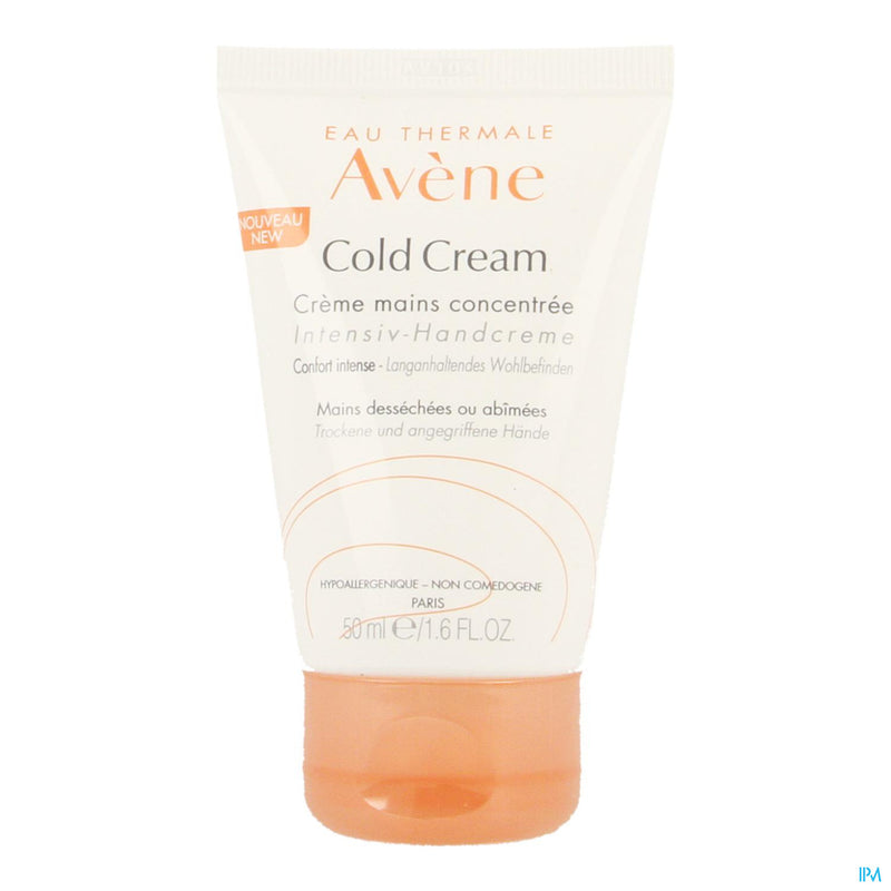 iU- COLD CREAM CREME MAINS CONCENTREE Soin des mains- AVENE