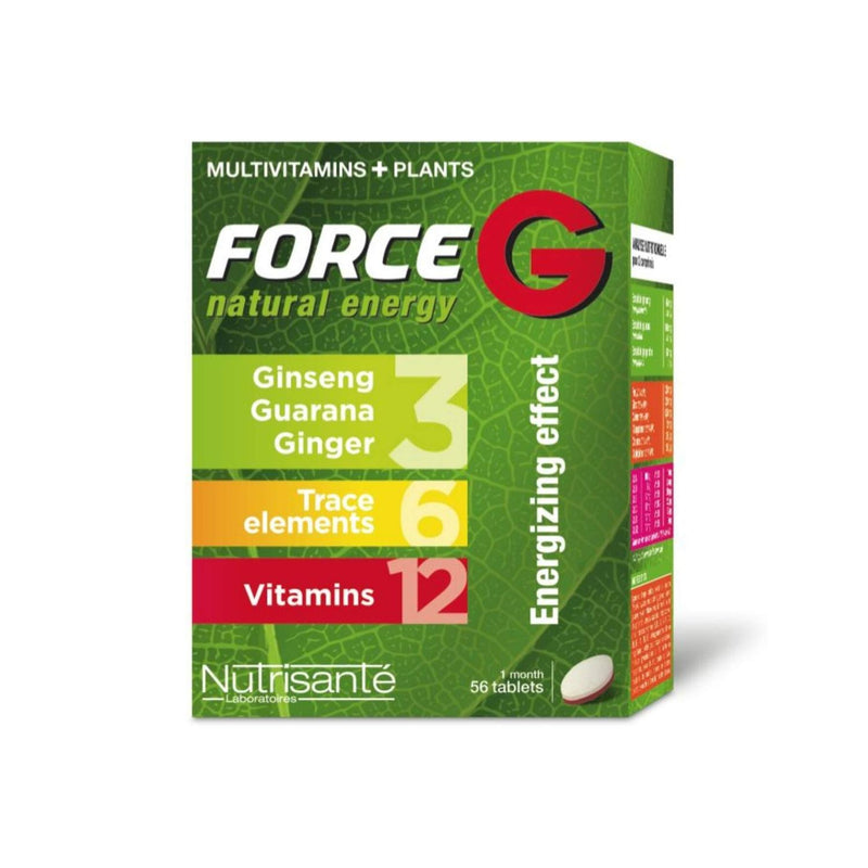 iU- FORCE G NATURAL ENERGY Complements multivitamines energie- NUTRISANTE