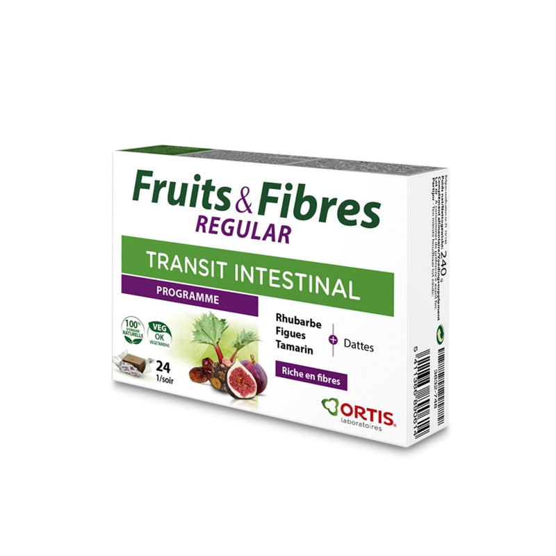 iU- FRUITS & FIBRES REGULAR Transit intestinal- ORTIS