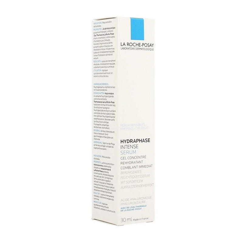 iU- HYDRAPHASE INTENSE SERUM Gel concentre rehydratant comblant immediat- LA ROCHE POSAY