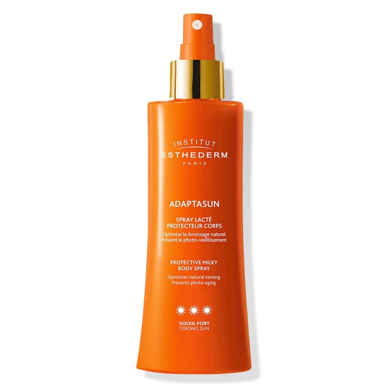 iU- ADAPTASUN SPRAY LACTE SOLEIL FORT Protection solaire corps- ESTHEDERM