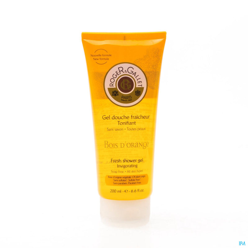 Roger&gallet Bois Orange Gel Douche Tube 200ml