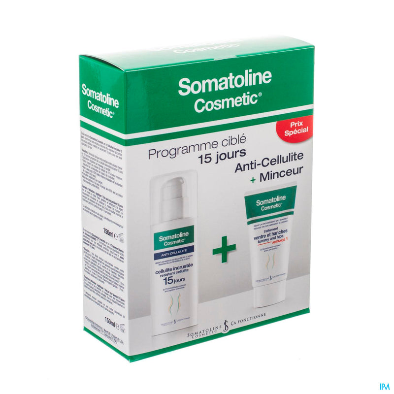 Somatoline Cosm. Duo Ventre&han.+a/cellul. 2x150ml