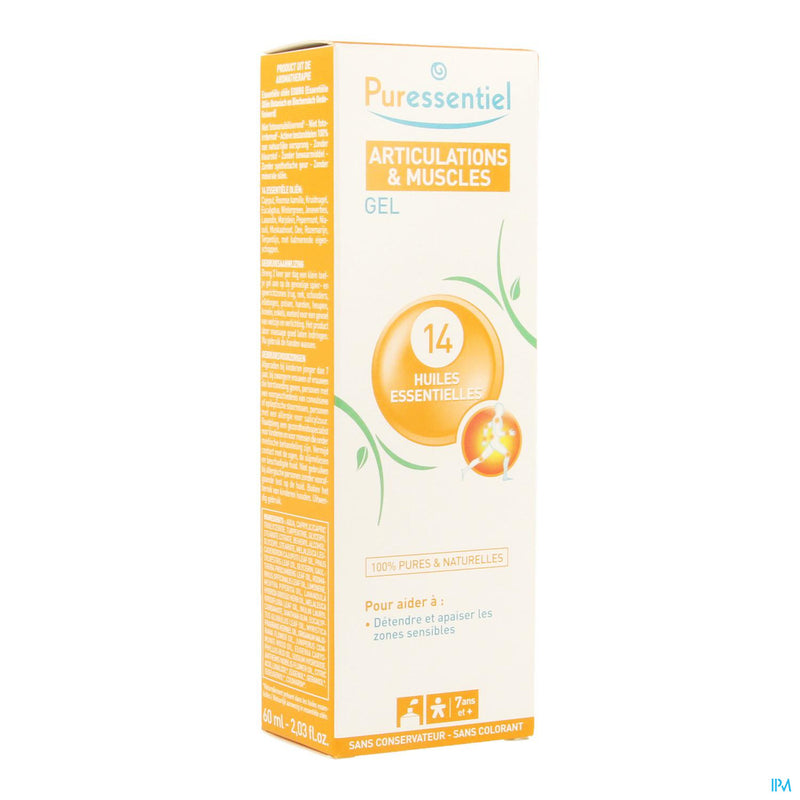 *** Puressentiel Articulation Gel 14 Hle Ess 60ml
