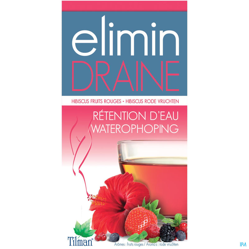 iU- Draine Fruits Rouges Tea-bags 20- Elimin