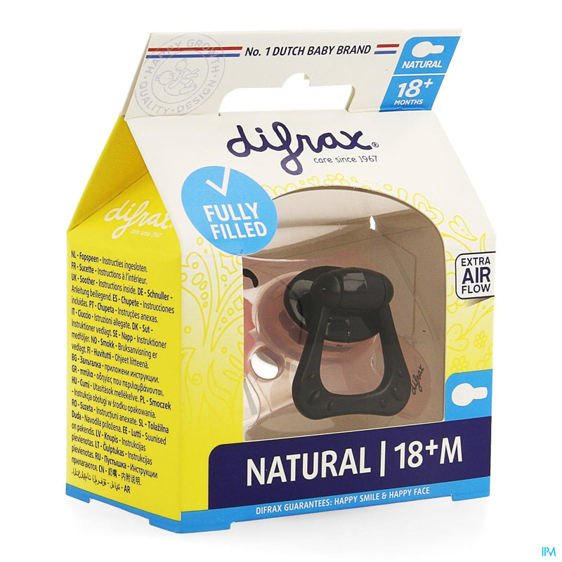 Difrax Sucette Natural 18+ M