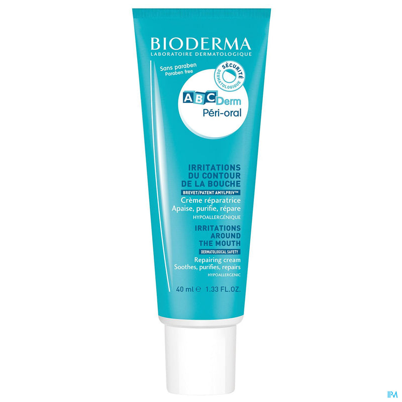 iU- ABC DERM PERI-ORAL Irritations bouche- BIODERMA