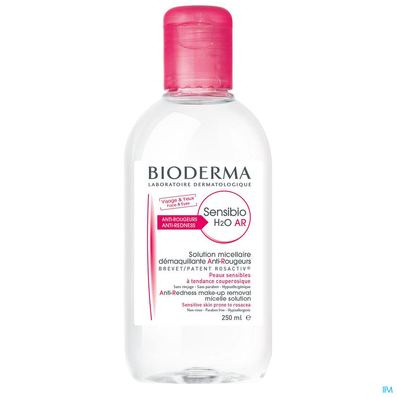 iU- SENSIBIO H20 AR Solution micellaire demaquillante anti-rougeurs- BIODERMA