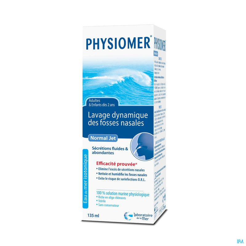 *** Prix Doux - PHYSIOMER Normal Jet 135ml