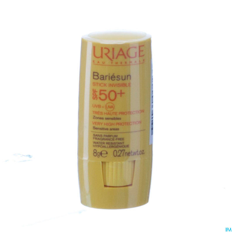 Uriage Bariesun Stick Invisible Ip50+ Zone Sens.8g