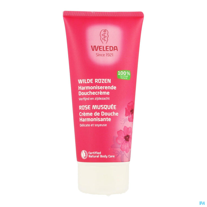 Weleda Creme Douche Tose Musquee Tube 200ml