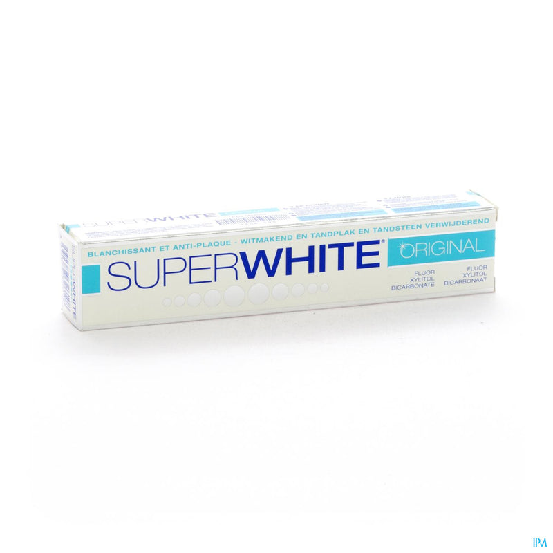 iU- DENTIFRICE ORIGINAL Dentifrice blanchissant- SUPERWHITE
