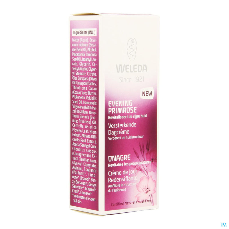 Weleda Evening Primrose Creme Jour Fortif.tbe 30ml