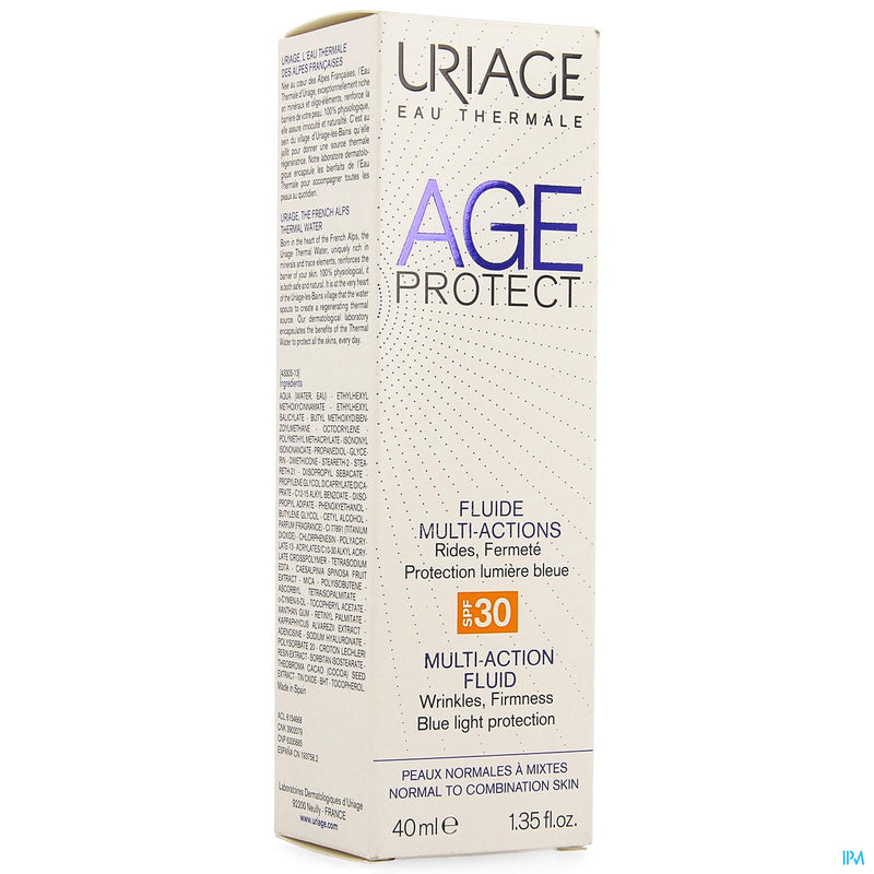 Uriage Age Protect Fluide Multi Actions Ip30 40ml