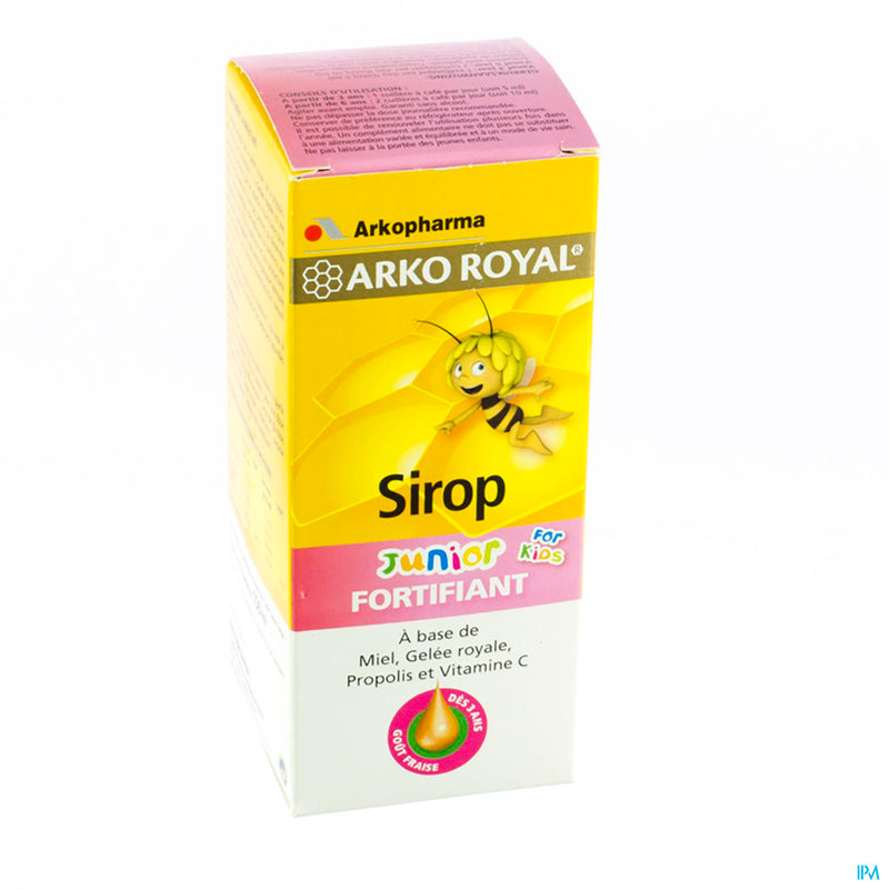 Arkoroyal Sirop Kid Fortifiant Ruche Royale 150ml