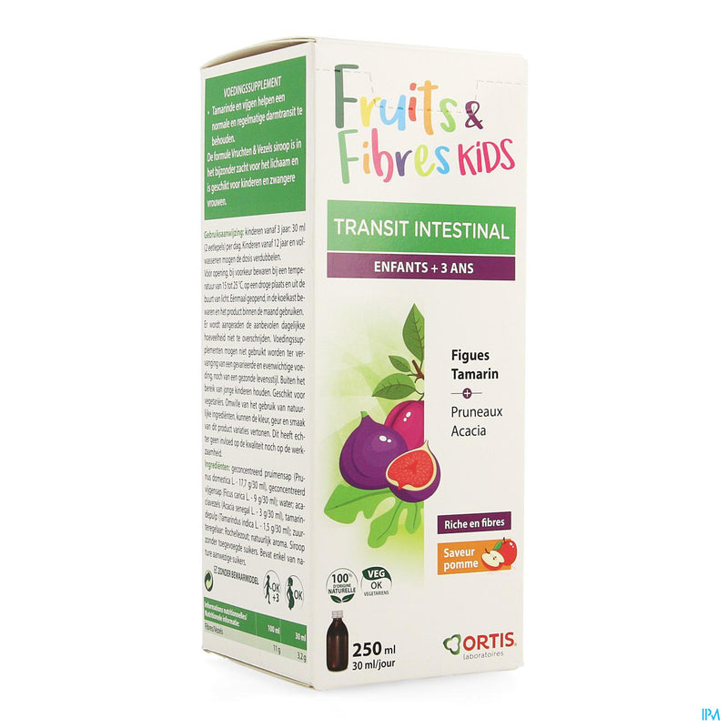 Ortis Fruits & Fibres Kid's Sirop 250ml