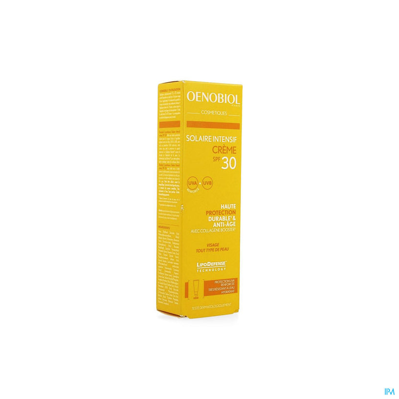 Oenobiol Cosmetiques Sol. Intensif Cr Ip30 50ml