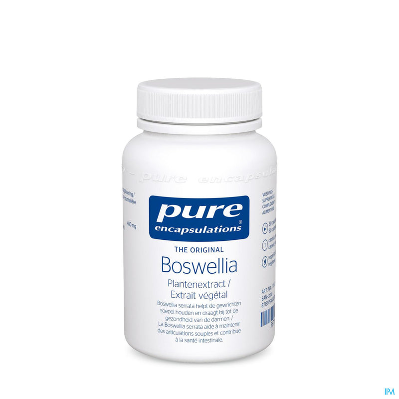 iU- EXTRAIT DE BOSWELLIA Complements articulations souples- PURE ENCAPSULATIONS