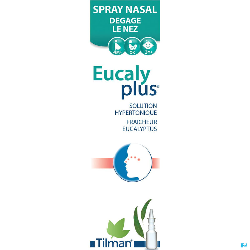 iU- Eucalyplus Spray Nasal 20ml- Tilman