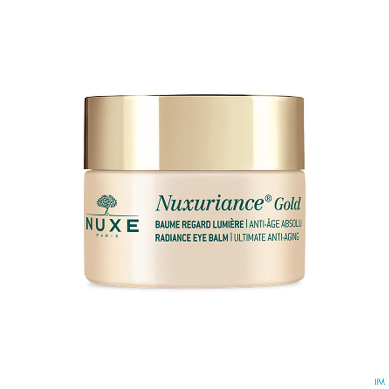NUXURIANCE GOLD BAUME REGARD LUMIERE Baume Yeux Anti Age NUXE