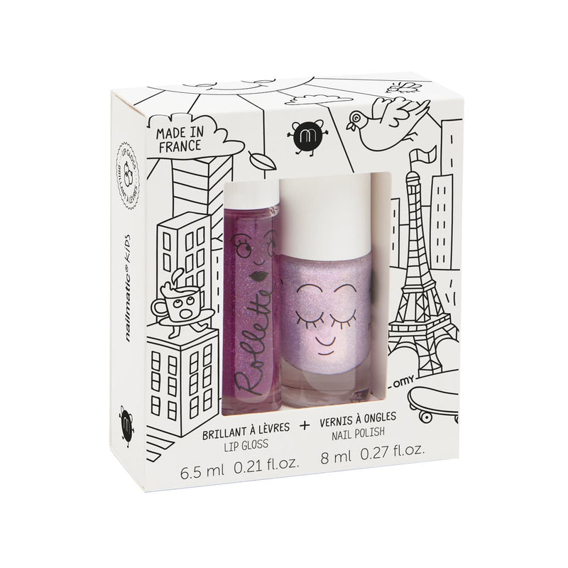 iU - DUO FAIRYTALES Brillant à Lèvres + Vernis à Ongles - NAILMATIC