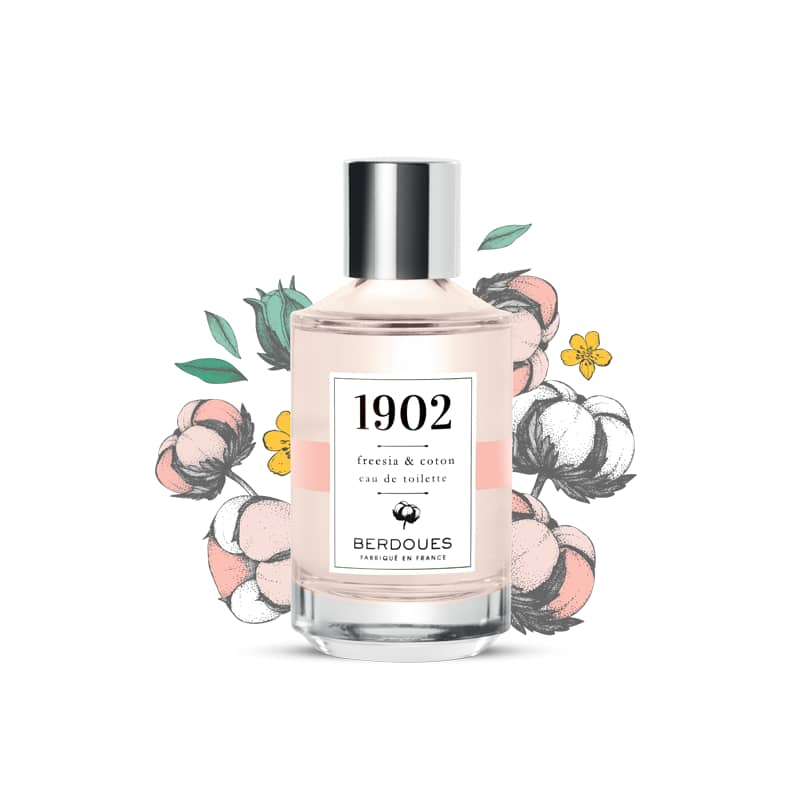 iU - 1902 EAU DE TOILETTE TRADITION Freesia & Coton - BERDOUES