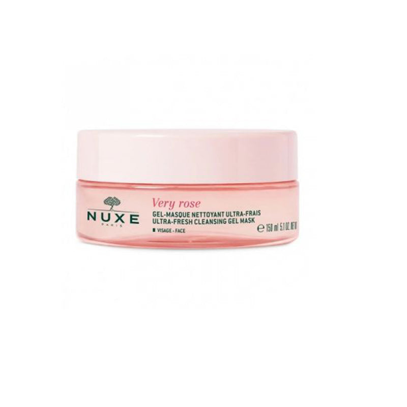 iU- GEL - MASQUE nettoyant ultra-frais- Nuxe Very Rose