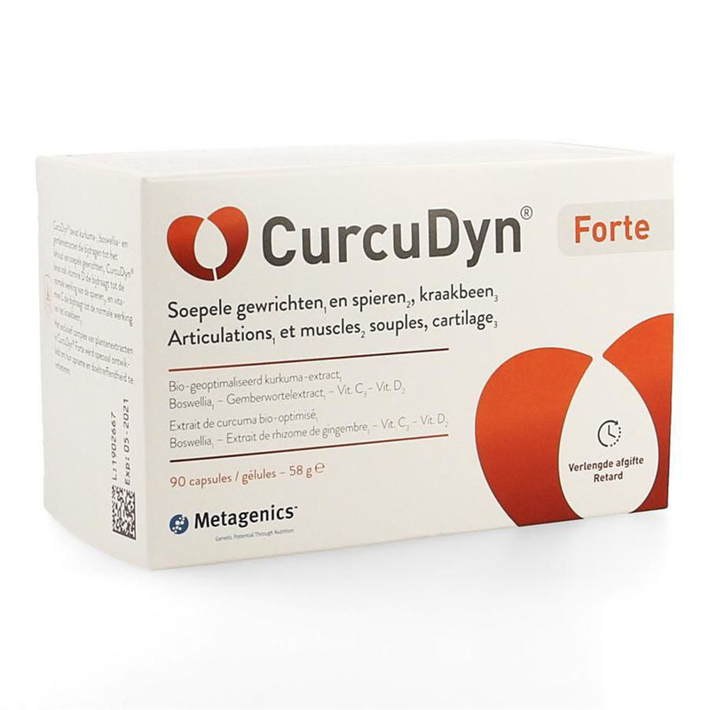 iU- CURCUDYN FORTE Articulations et muscles souples 90- METAGENICS