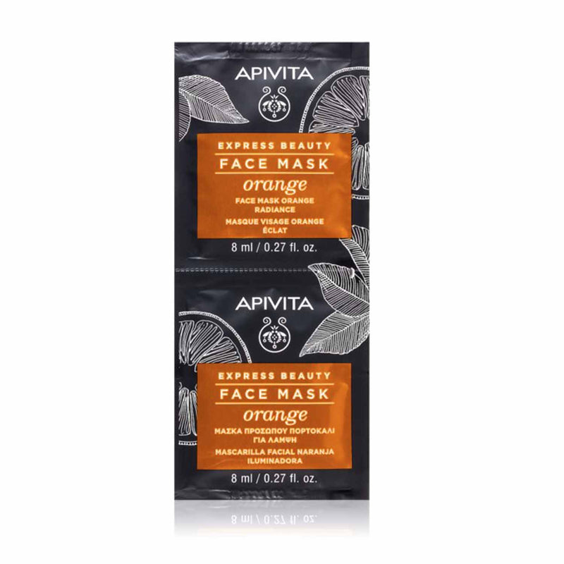 iu- Express Beauty Masque Orange- Apivita