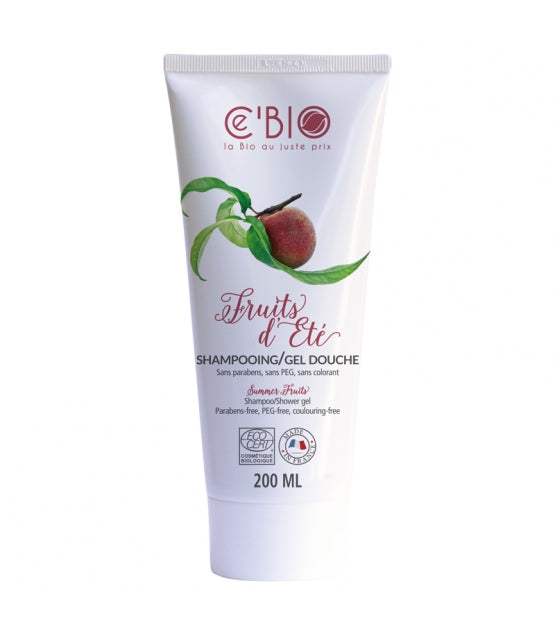 iU - SHAMPOOING BIO FRUITS D'ETE 200ml - CEBIO