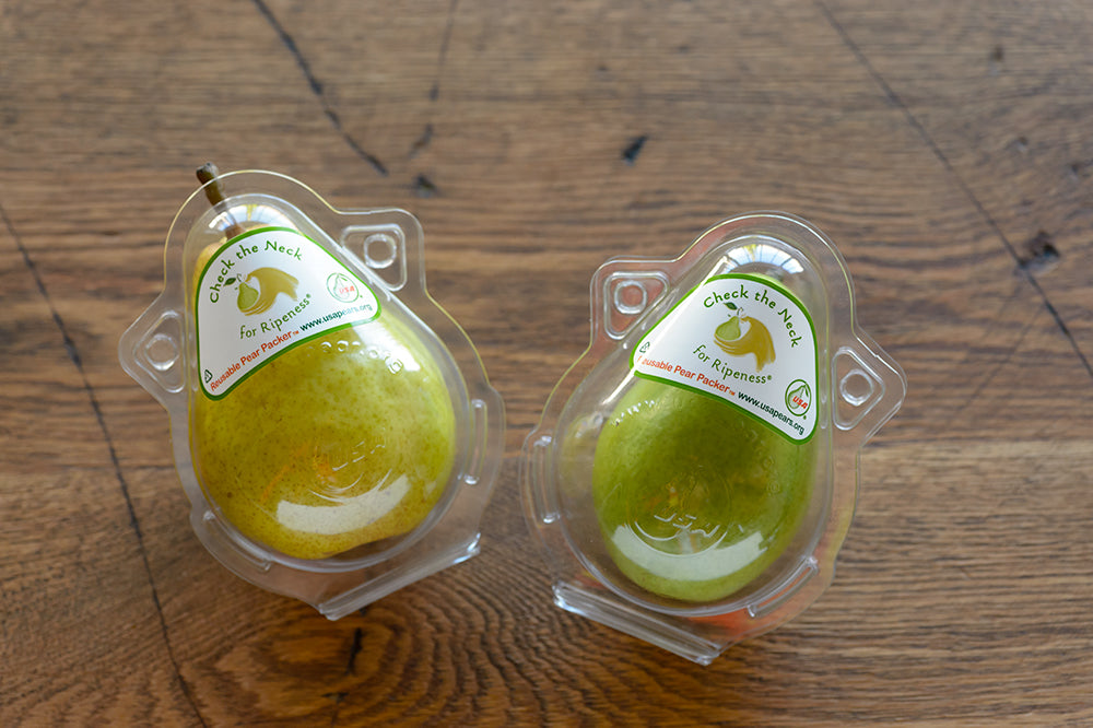Set of Four Pear Packers