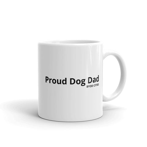 Proud Dog Dad Mug